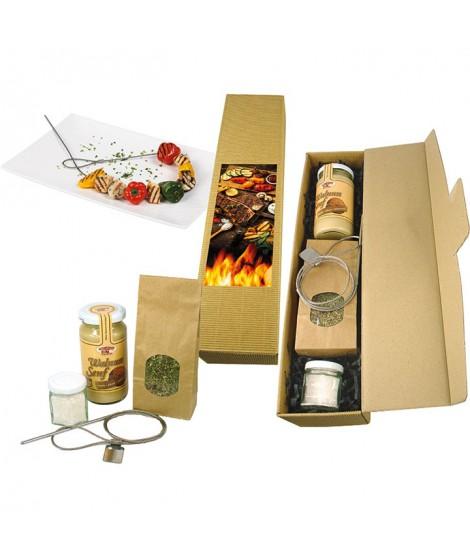 Grill-Set mit flexiblem Grillspiess